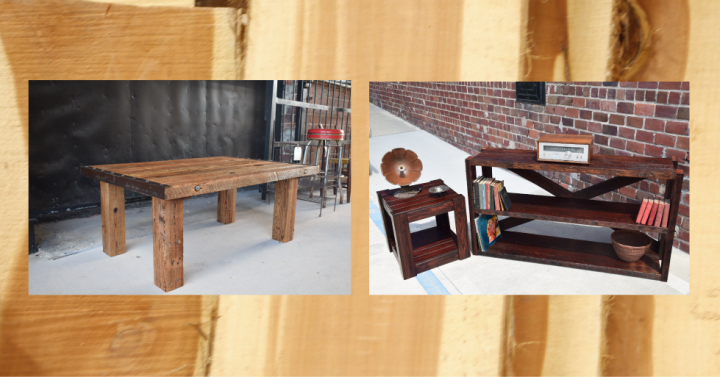 Woodworking Projects With Reclaimed Or Salvaged Lumber