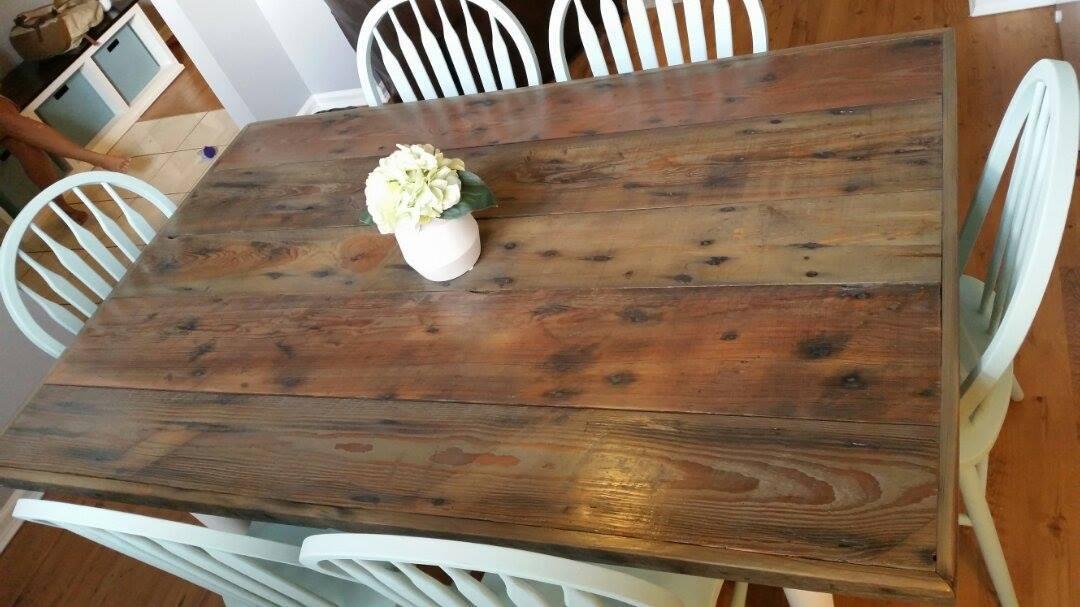 Custom built Farm table