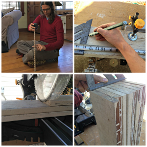 DIY Table Project by staff writer David Podris