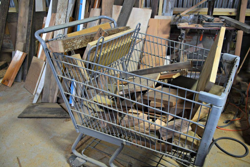 More scrap wood waiting to be repurposed!