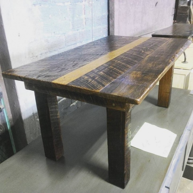 Farm Coffee Table built in our Wood Shop by Billy Leeka