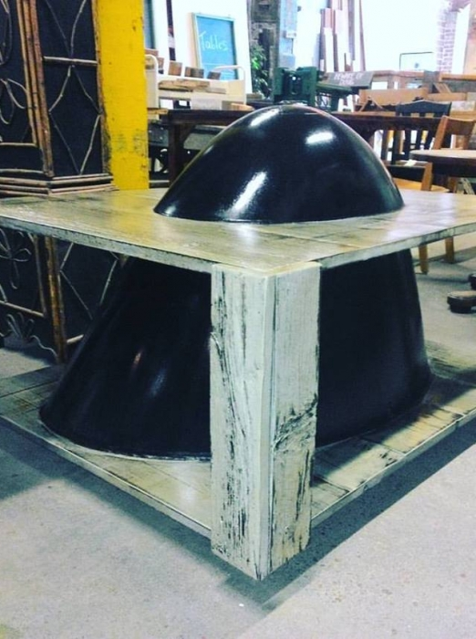 Plane Nose Table built in our Wood Shop by Billy Leeka