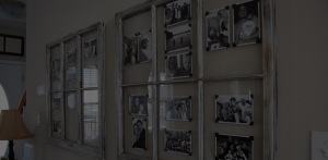 Repurposed Vintage Windows