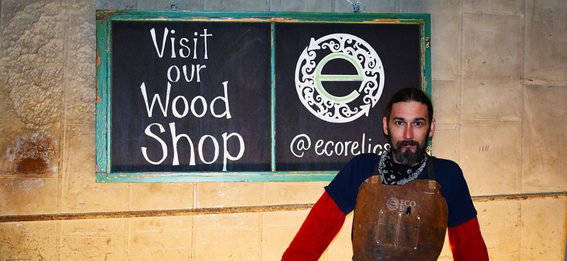 Say hello to our Wood Shop Manager, Billy Leeka.