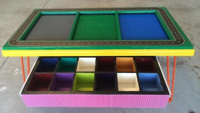 DIY LEGO Table Katrina Brocato-Cramer