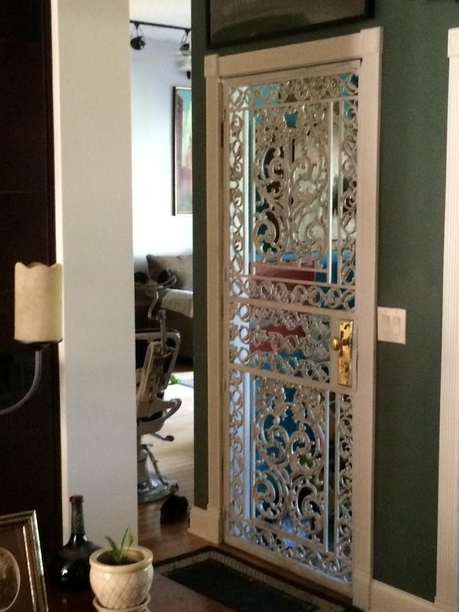 Gorgeous ornamental door