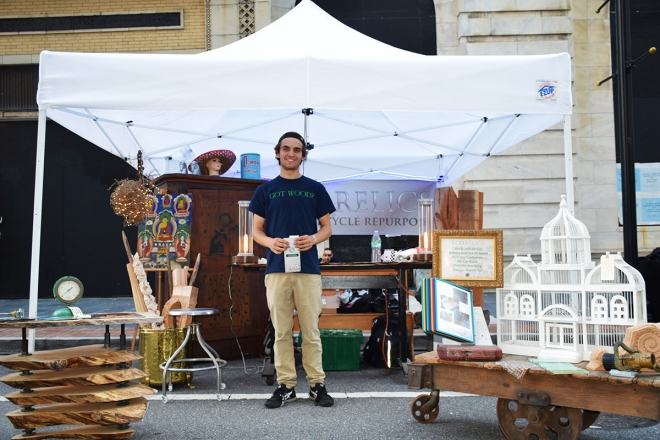 Matt Stewart at Green Lion Festival