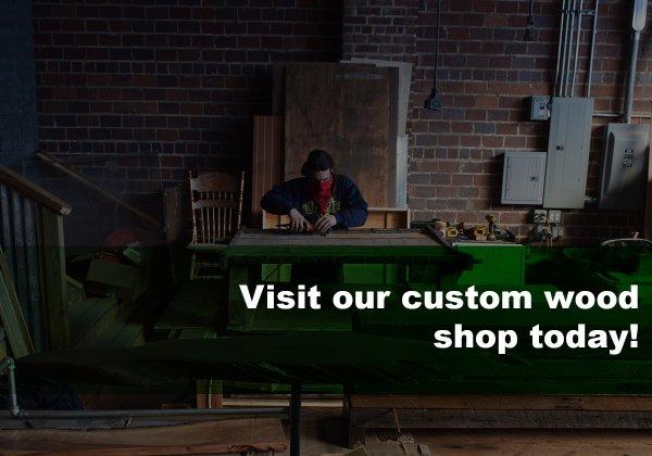 Customer registration Custom Wood Shop
