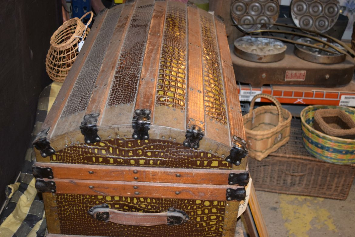 Antique trunks abound at Eco Relics
