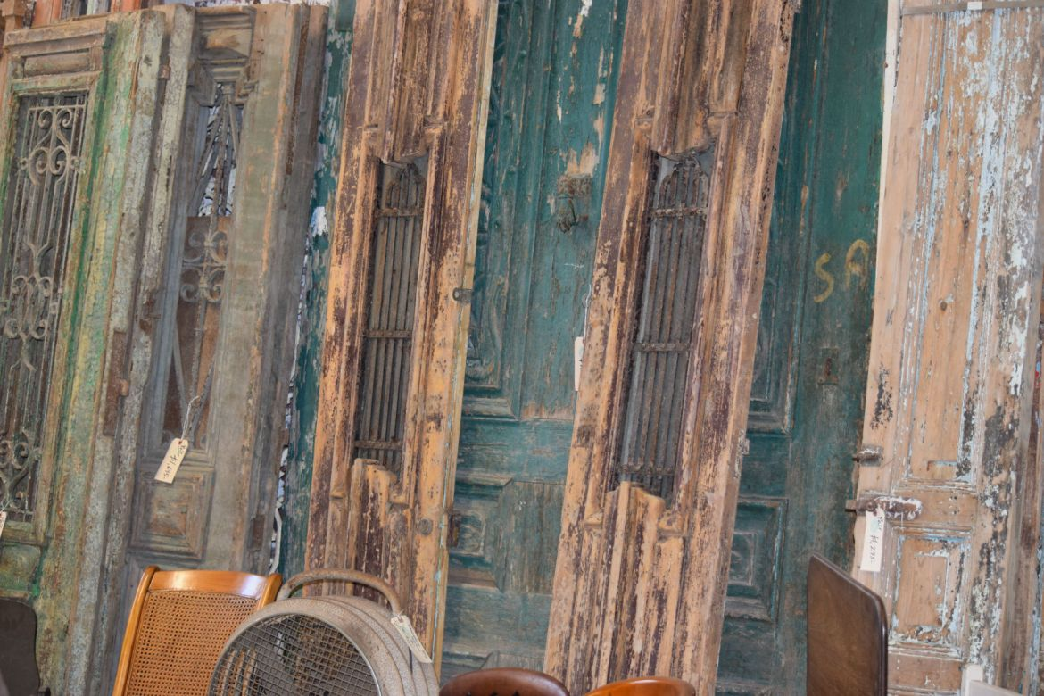 Antique Egyptian Doors and Shutters