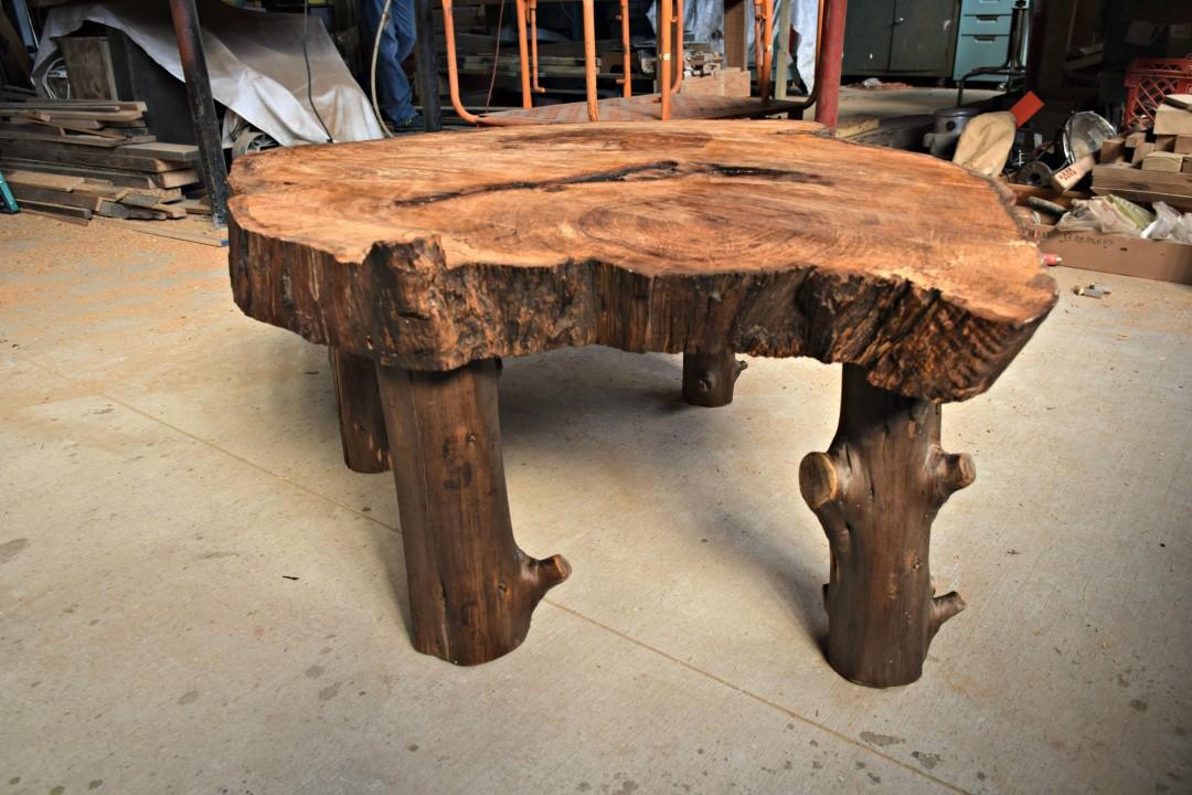 custom pecan table