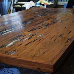 Custom Table Top by Billy ready for legs to be attached.